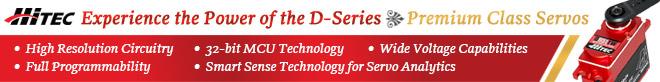 Hitec D-Series Servos