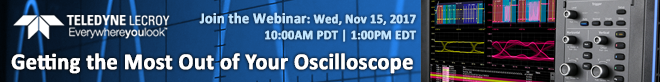 Teledyne Lecroy - Webinar - Getting the most out of your oscilloscope