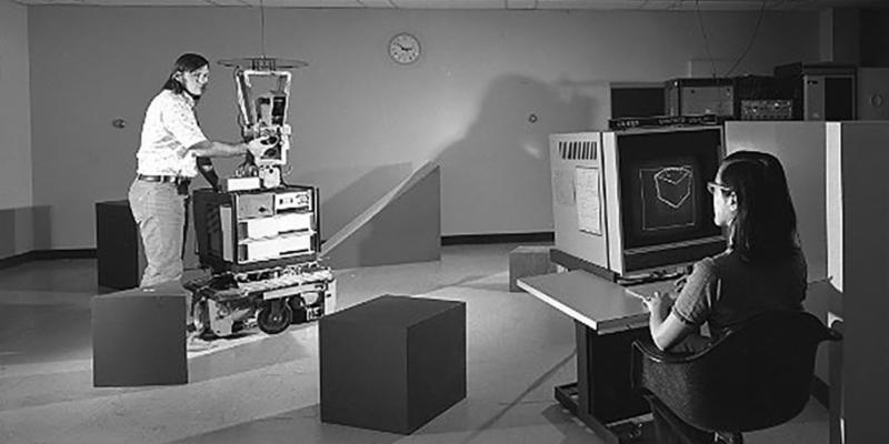 Shakey - A 1960s Predecessor to Todays Advanced Robotics
