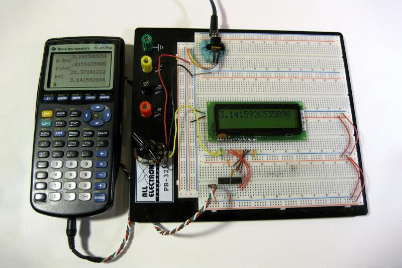 A Mathematics Engine For Microcontrollers