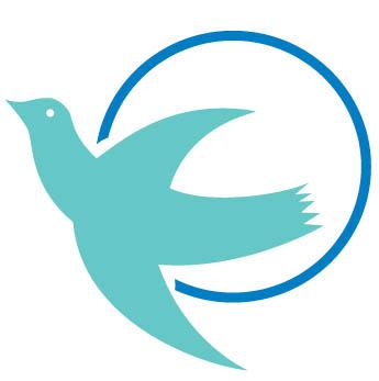 Visiting Angels Dove Logo