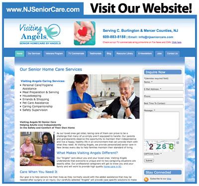 NJ Senior Care page