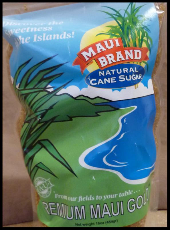 Maui Brand Gold Sugar Bag