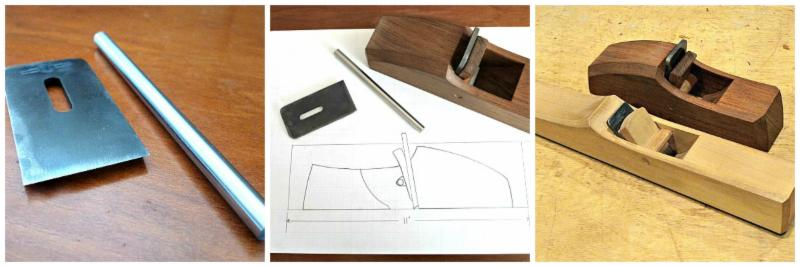 516-Advancing Handtools, Isaac Fisher's Wooden Scraper Plane Banner