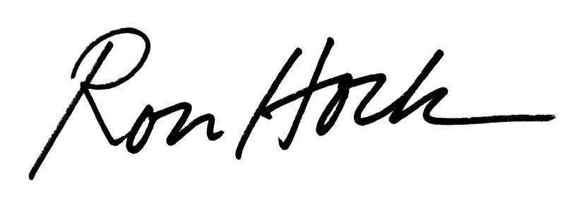 Ron's Signature