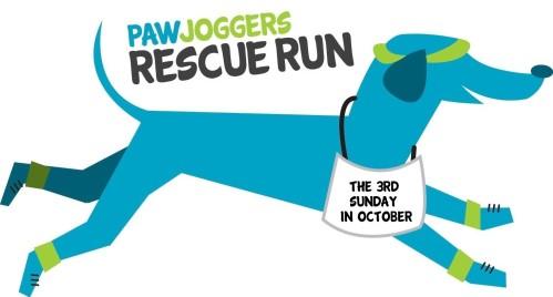 Paw Joggers Rescue Run logo