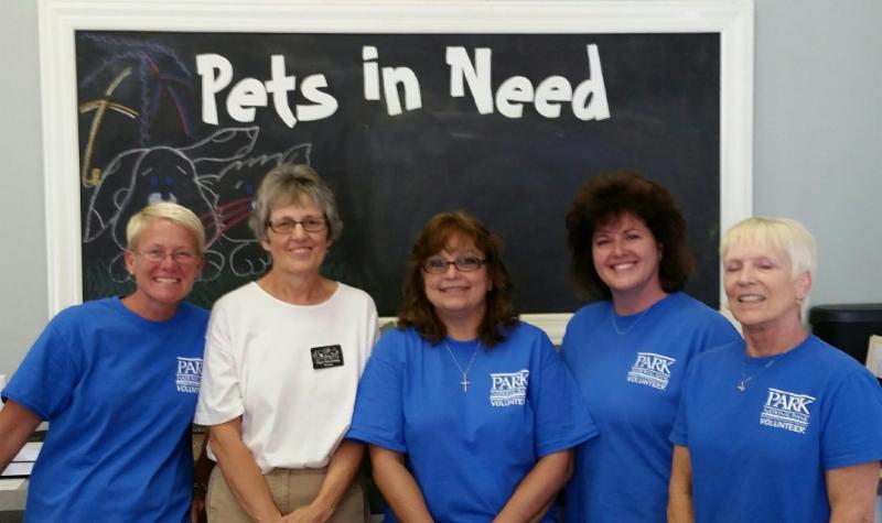 Park Cares volunteers
