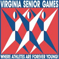 Virginis Senior Games logo