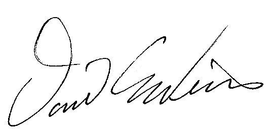 Mayor Weiss Signature