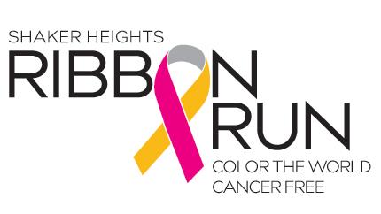 Ribbon Run event logo