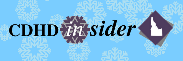 CDHD Insider with snowflake background