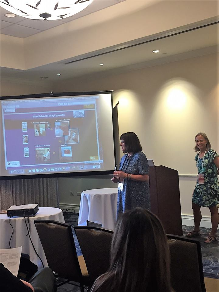 Julie Fodor and Gwen Mitchell present at the PacRim Disability Conference