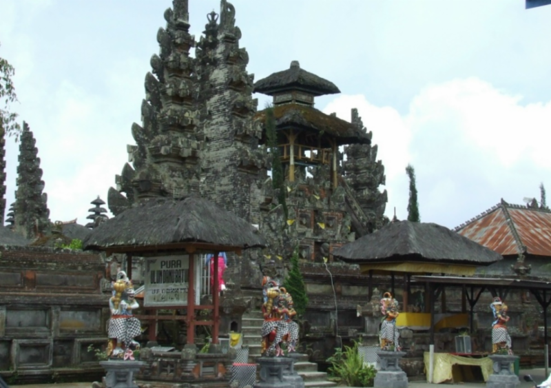 Balinese water temple