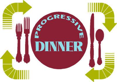 progressive dinner graphic