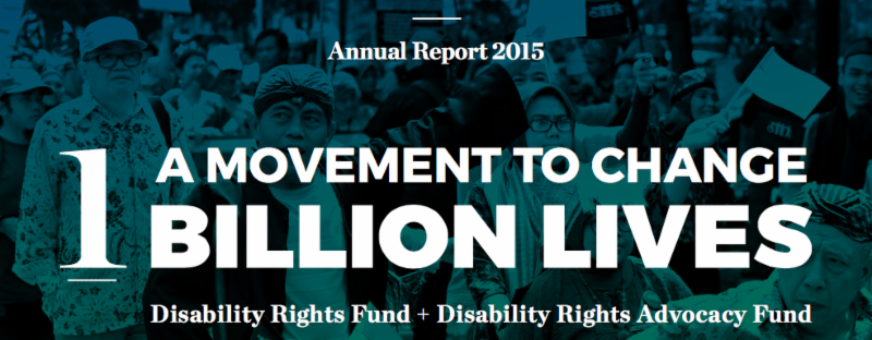 A movement to change one billion lives- link to annual report