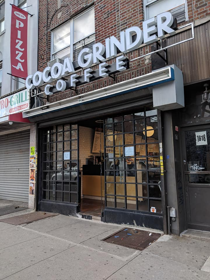 Cocoa Grinder Coffee Opens on Avenue M