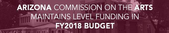 Arts Commission maintains level funding FY2018