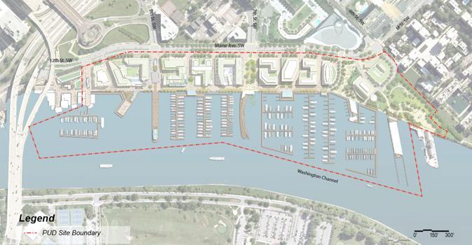 The Wharf site plan