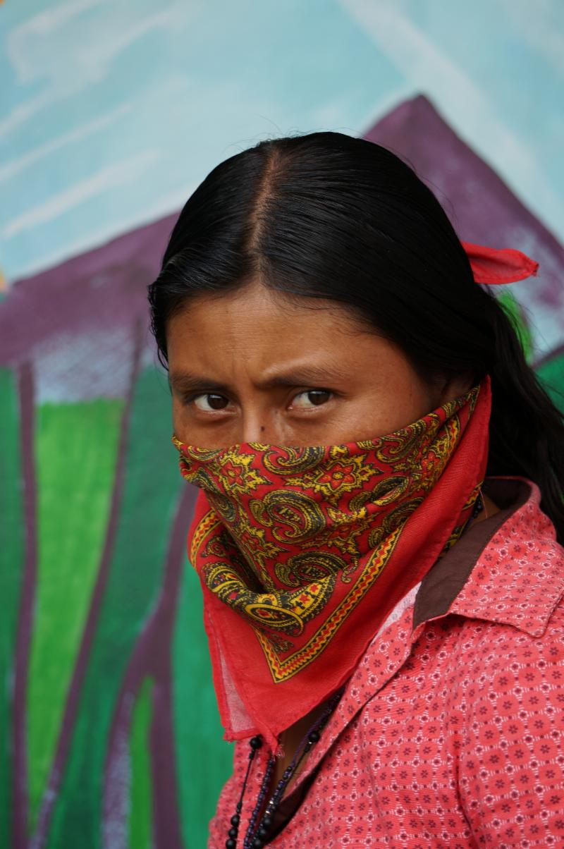 Zapatista School Muralamp; ForestsInternational Women's Food uPZwTXOki