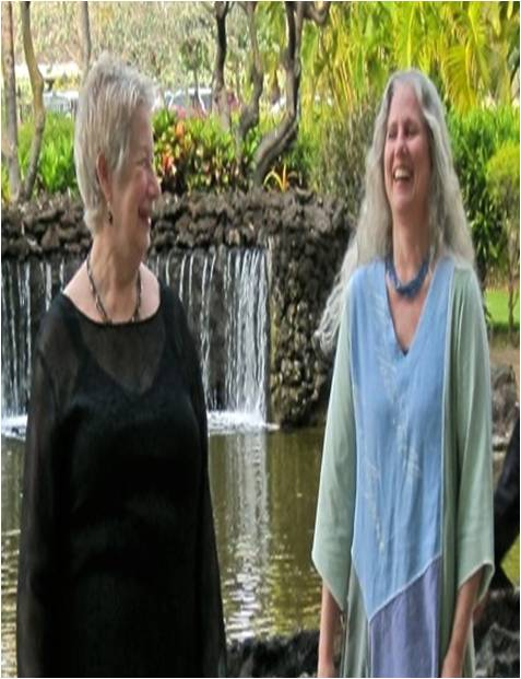 Sue Richards and Carolyn Surrick