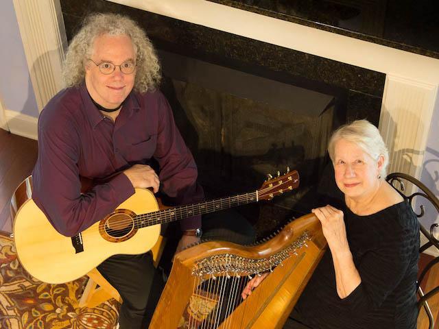 Robin Bullock and Sue Richards