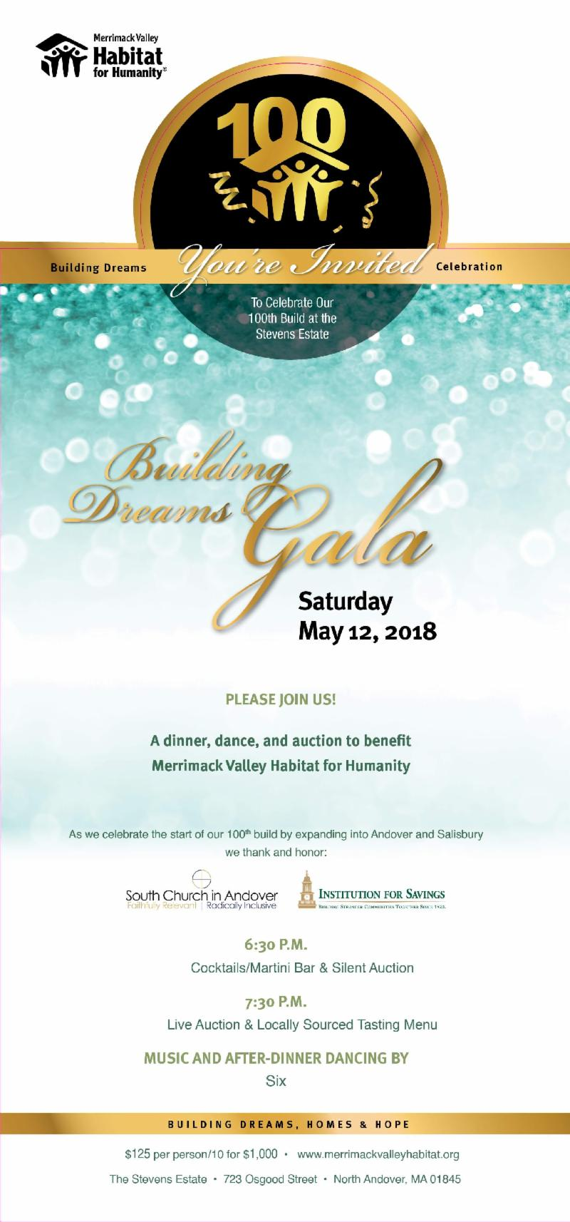 Gala Invitation 2018 Stevens Estate