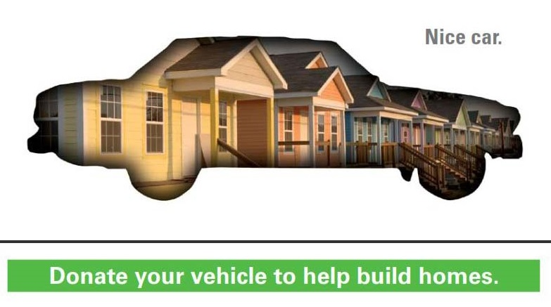 Donate a vehicle graphic
