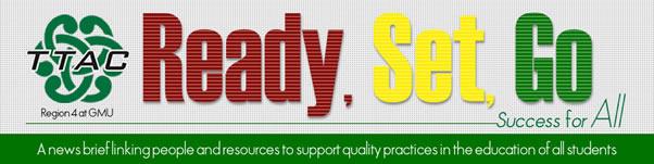 Logo. Reeady Set. Go News Brief May 2018