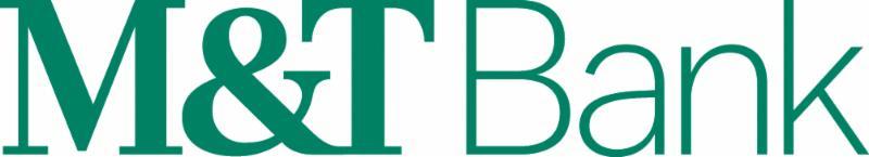 M_T Bank green logo on white background