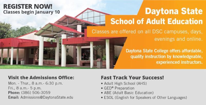 state daytona adult college education