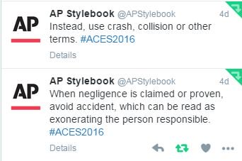 crash connotation of the word crash