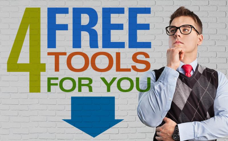 Four Free Pro AV Tools For You