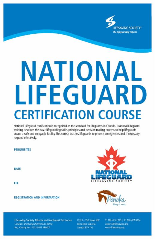 Free Professional Resume Lifeguard Training Certification