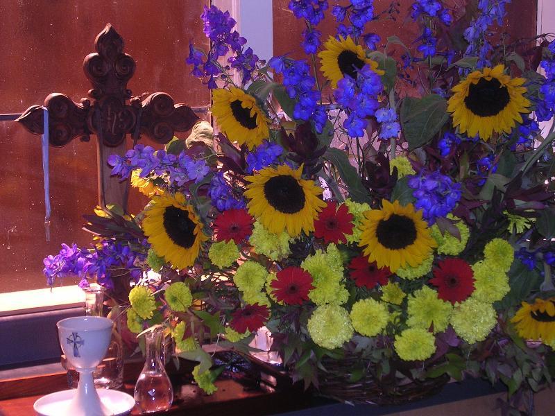 Cut Altar flowers