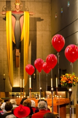 the red balloons