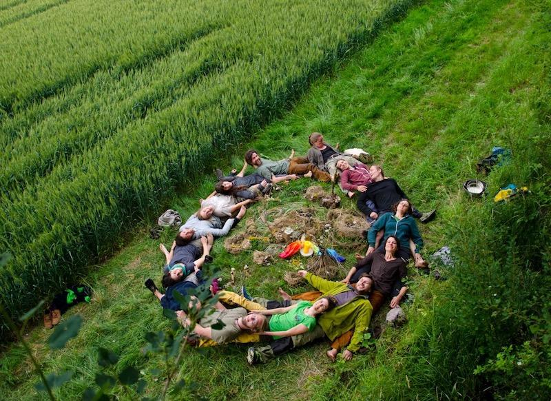 World-changer human wreath