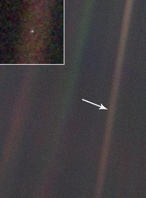 Earth from 4 billion miles