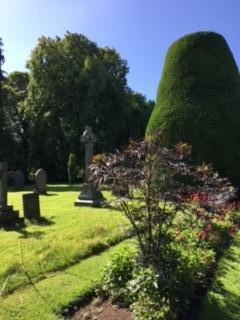 Lovely Carlisle cemetery