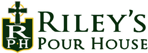 RIley's Pour House Dark Green Logo
