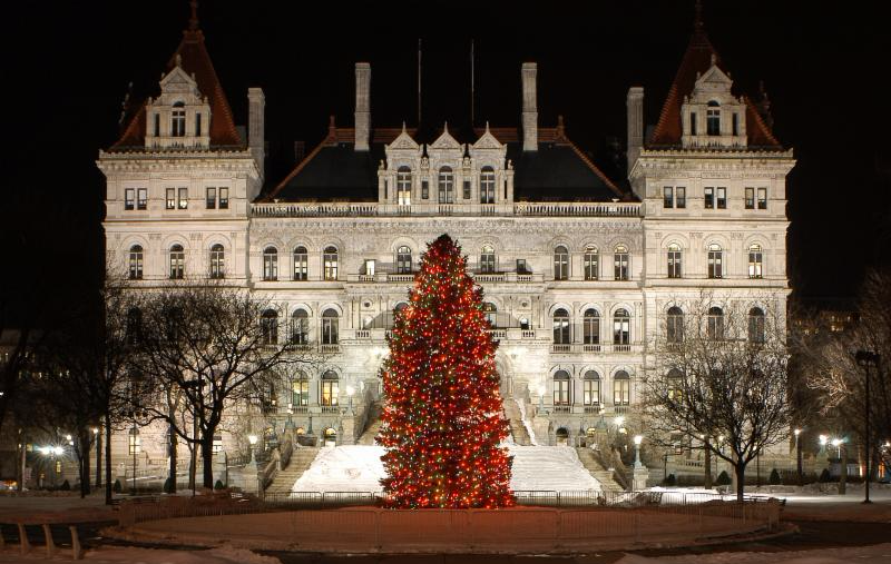 New York State Holiday Tree