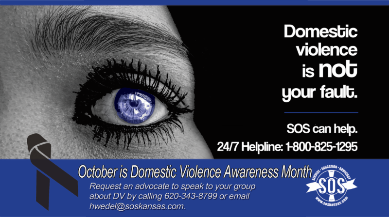 October is Domestic Violence Awareness Month image