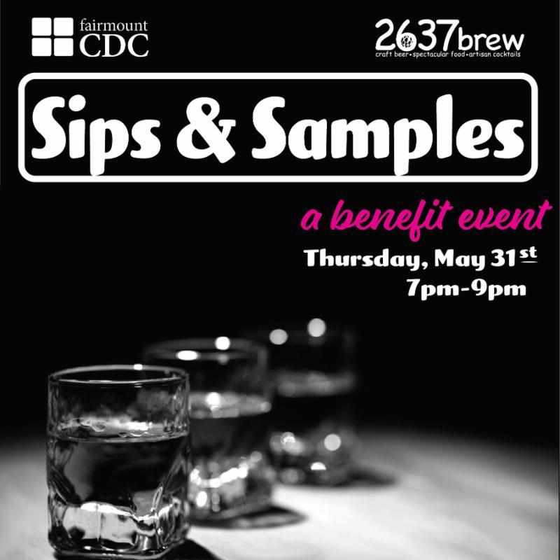 Fairmount CDC Sips and Samples Event
