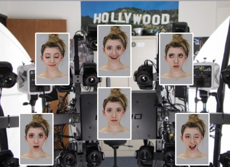 Liz Head scan and expressions
