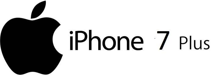 iPhone 7 PLUS logo