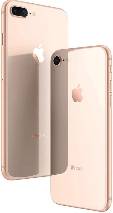 iP8 gold graphic
