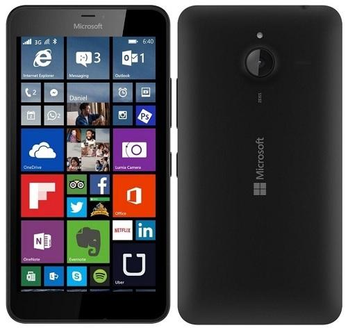 Lumia 640XL black graphic