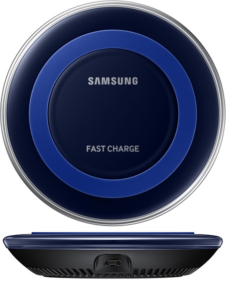 Samsung Wireless Charger_Blue graphic