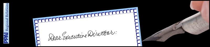 Dear Executive Director: