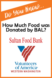 BAL Food Donation to Sultan Food Bank