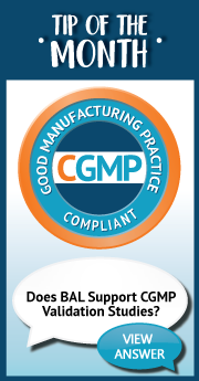 Tip of the Month_ Does BAL Support CGMP Validation Studies